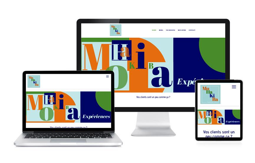 Site Wordpress de MoHaKiBa, conseils en expériences touristiques, réalisé par Jane Web