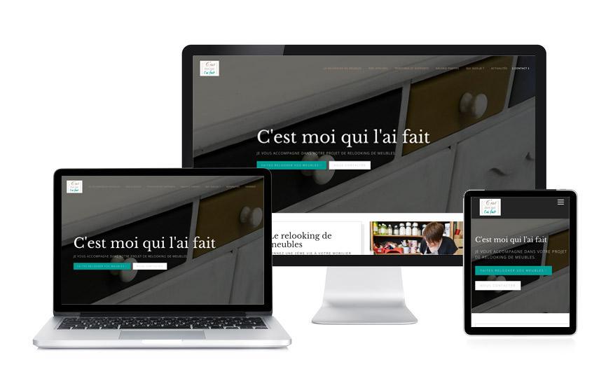 Jane Web a rédigé le contenu web et a réalisé le site Wordpress de c'est moi qui l'ai fait à Nivillac.