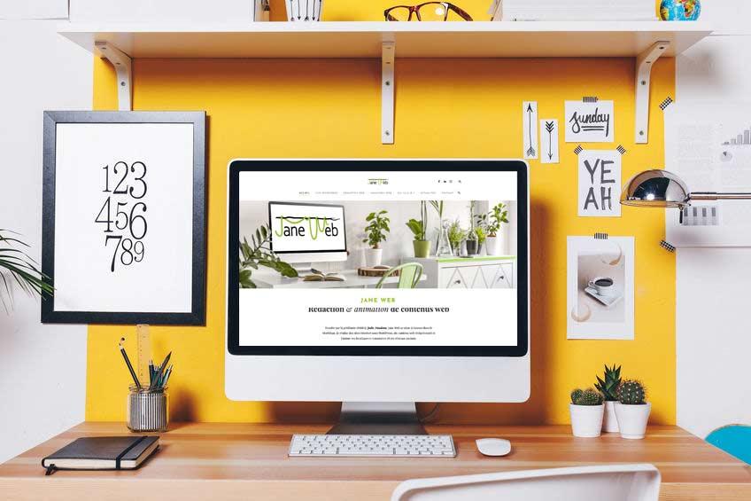Création et refonte de site Wordpress vitrine ou e-commerce par Jane Web à Vannes.